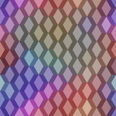 Seamless pattern with mesh of color rhombuses