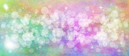 Foto de Bokeh multicolor pastel Ancho Fondo - Imagen libre de derechos