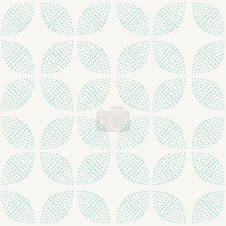 Seamless Pattern. Hand Drawn. Flower