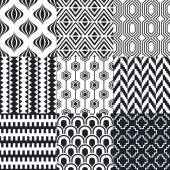 Set of elegant patterns