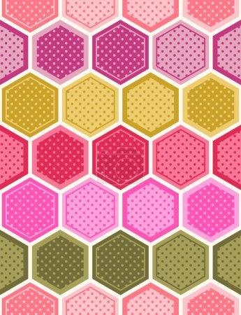 hexagonal background pattern