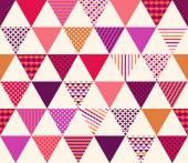 geometric triangles pattern
