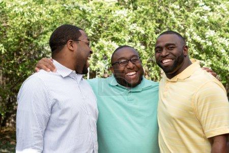 Photo pour Frères afro-américains - image libre de droit