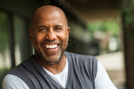 Photo for Mature African American man - Royalty Free Image
