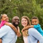 Beautiful multiracial family....