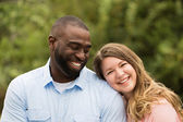 Loving Interracial Couple