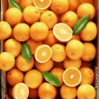 Sweet fresh and juicy oranges rich in vitamins and...