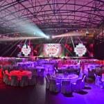 Prepareted show hall for public event...