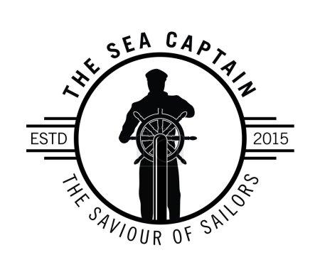 The sea captain : Sailor badge