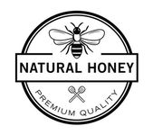 Natural Honey Bee badge
