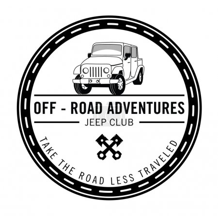 automobile adventure badge