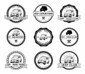 automobile adventure badge