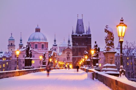 Charles bridge, Old Town bridge tower, Prague (UNESCO), Czech