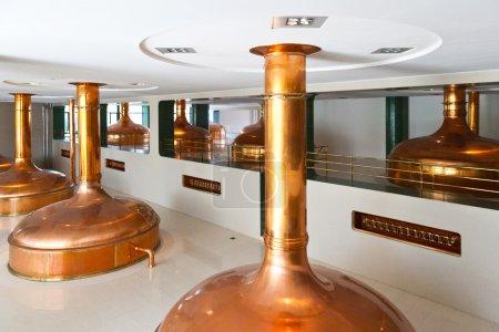 Pilsner Urquell Brewery from 1839, Pilsen, Czech republic