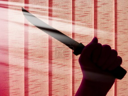 attack with a knife - murder and criminality