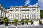 spa town Karlovy Vary, Czech republic, Europe