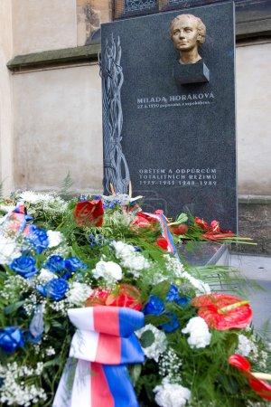 Dr Milada Horakova memorial Vysehrad