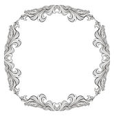 Vintage vector frame with place for text or picture For invitat