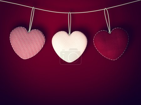 Design Template. Heart for Valentines Day Backgrou...