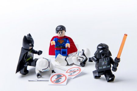 Nonthabure, Thailand - May, 22, 2016 : LEGO minifigure Batman, S