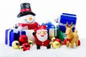 Santa Claus doručit štěstí v Štědrý den