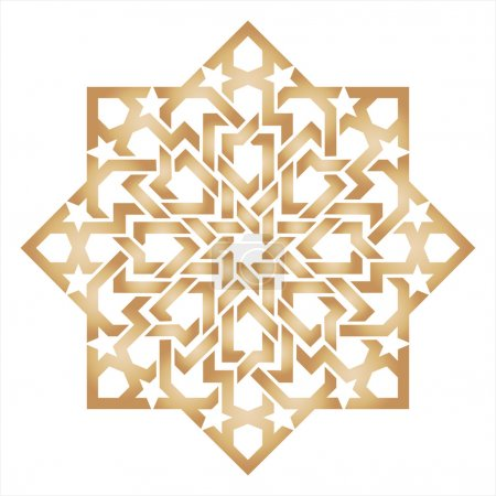 Islamic traditional ornament
