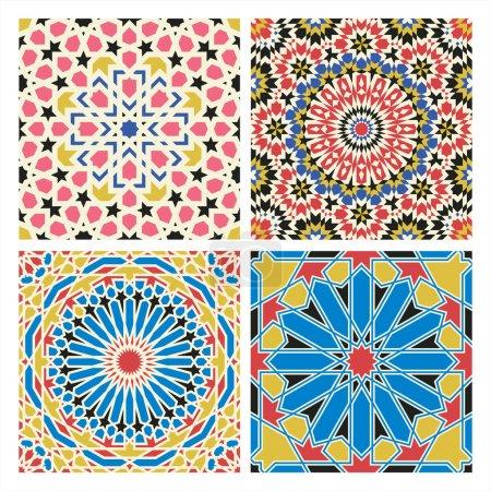 Traditional arabian tale patterns