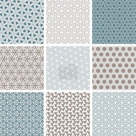 Islamic patterns set