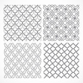 Seamless vector arabic patterns for background