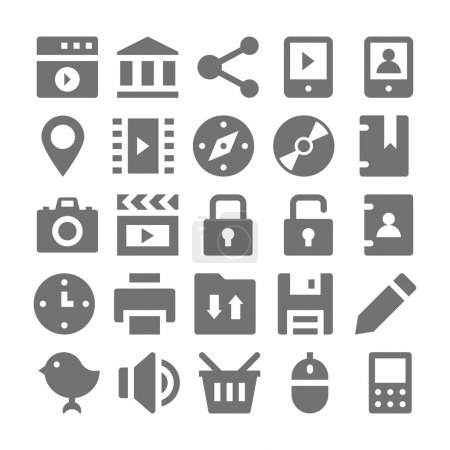 Advertising and Media Vector Icons 2