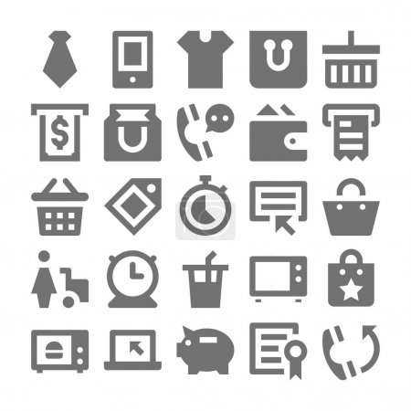 Shopping and Retail Vector Icons 5