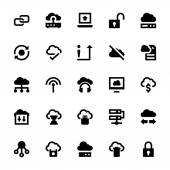 Cloud Data Technology Vector Icons 3
