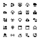 Cloud Data Technology Vector Icons 7