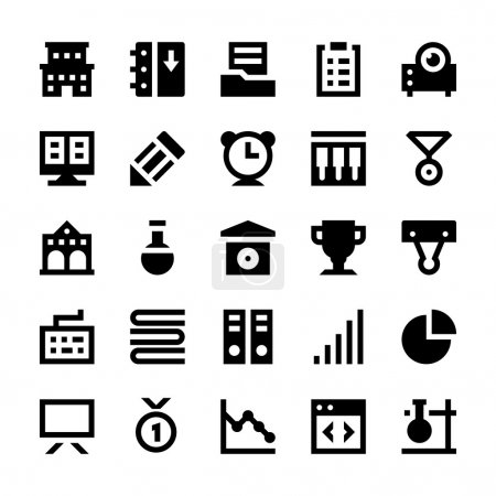 Education and School Vector Icons 5