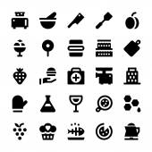 Hotel Services Vector Icons 11