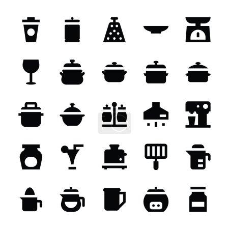 Kitchen Utensils Vector Icons 9