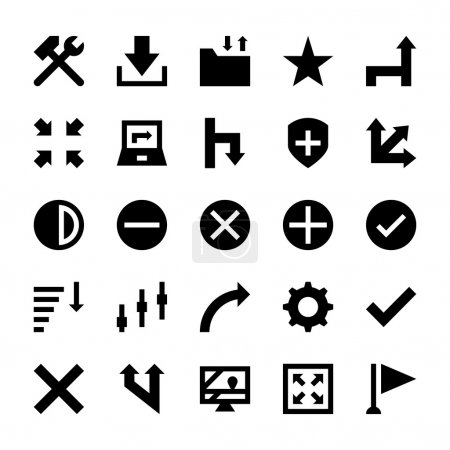 Selection, Cursors, Resize, Move, Controls and Navigation Arrows Vector Icons 6