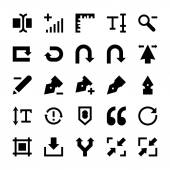 Selection Cursors Resize Move Controls and Navigation Arrows Vector Icons 4