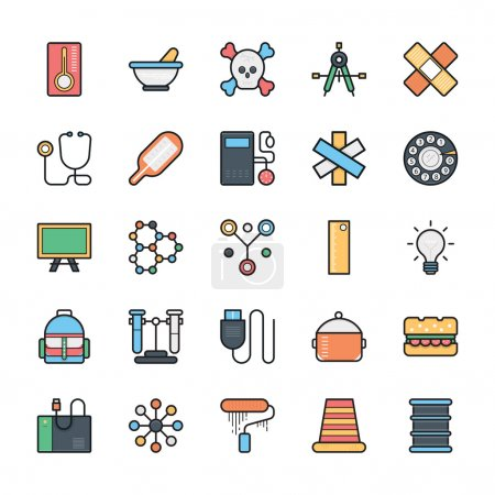 Networking, Web, User Interface and Internet Vector Icons 10
