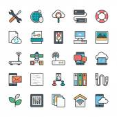 Networking Web User Interface and Internet Vector Icons 14
