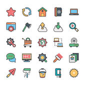 Networking Web User Interface and Internet Vector Icons 20