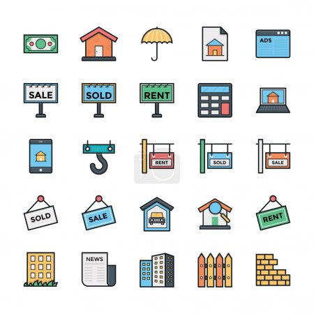 Networking, Web, User Interface and Internet Vector Icons 25