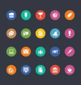 Glyphs Colored Vector Icons 23