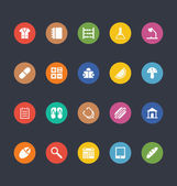 Glyphs Colored Vector Icons 24