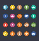 Glyphs Colored Vector Icons 21