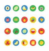 Fruit and Vegetable Vector Icons 2