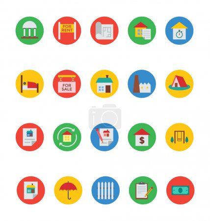 Real Estate Vector Icons 6