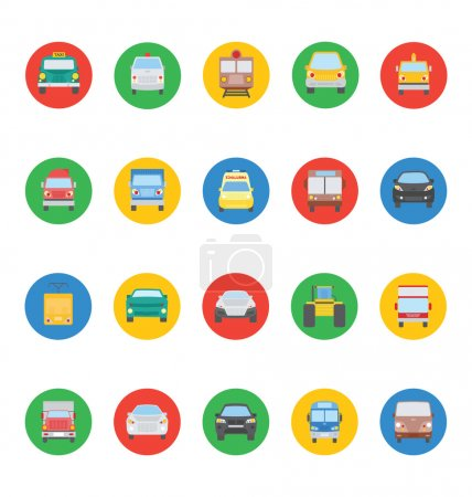 Transports Vector Icons 2