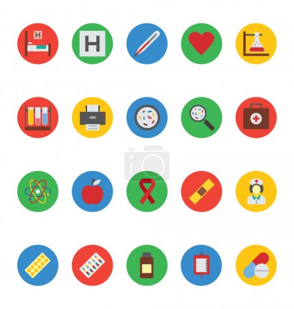 Medical Vector Icons 2