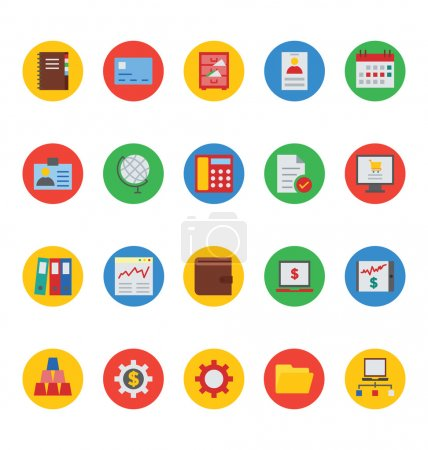 Business and Finance Vector Icons 4